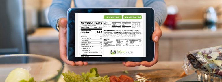 Industry-leading nutrition calculator and food label creator