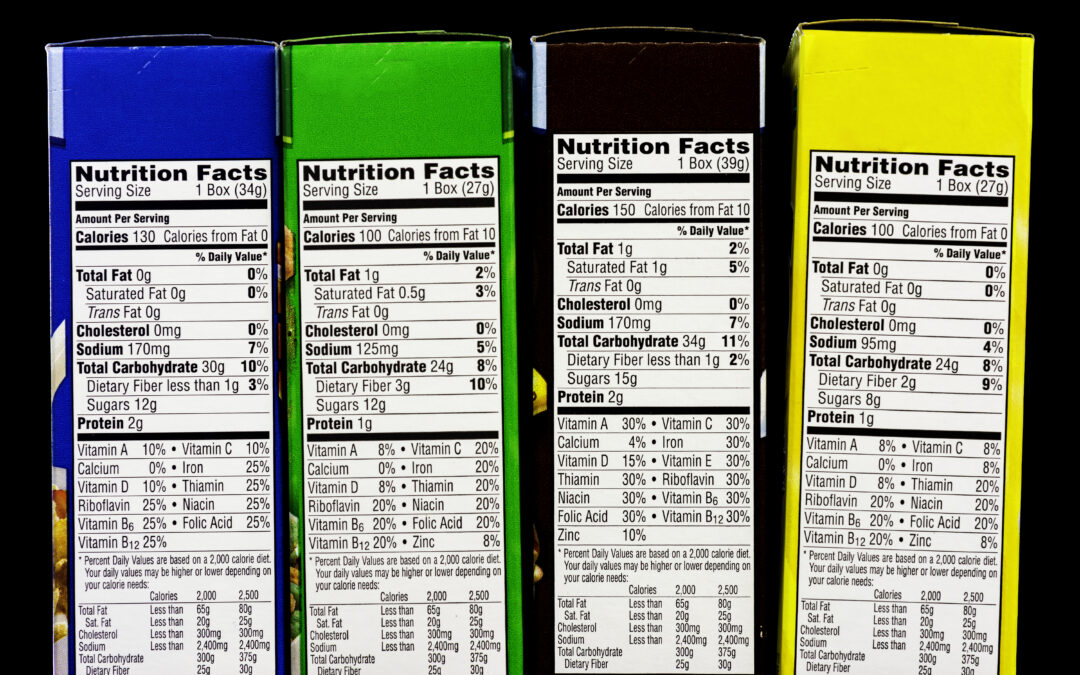 Create a Nutrition Facts Panel in 3 Easy Steps