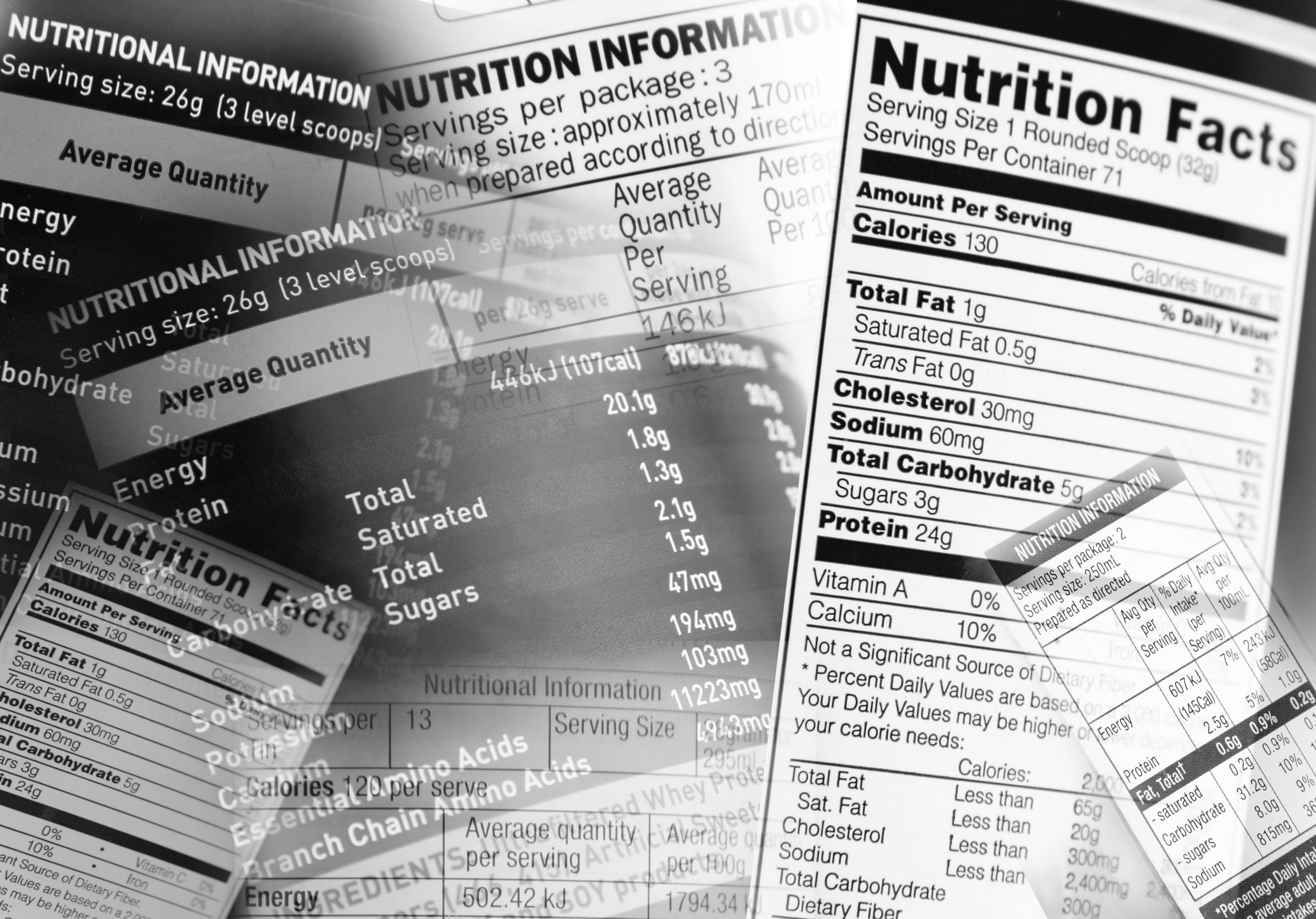 nutrition label review
